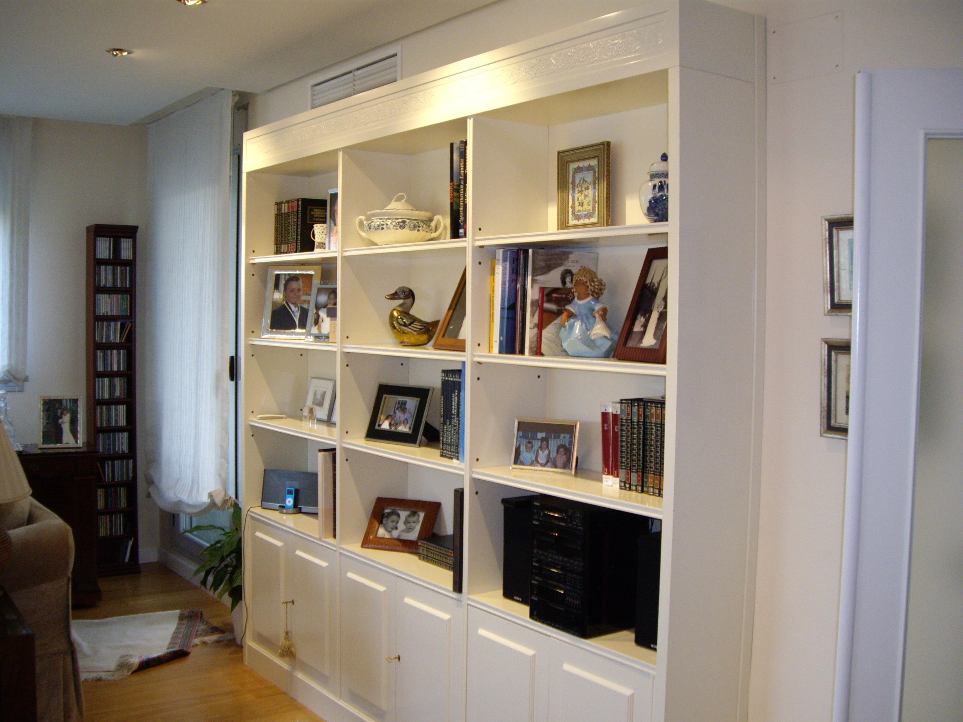 Muebles Monseco. Ebanistería A Medida. Librerías